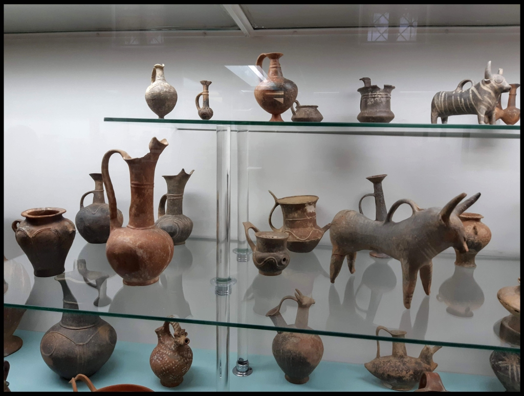 Cypriot Bronze Age pottery from the Cyprus Museum in Nicosia.