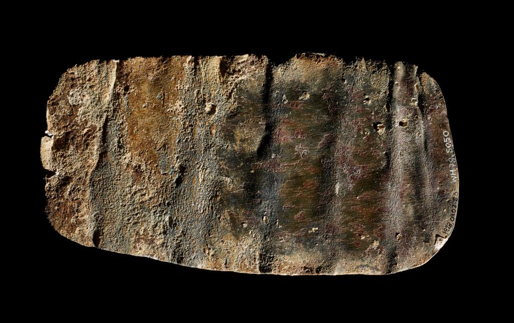 Back of lead curse tablet