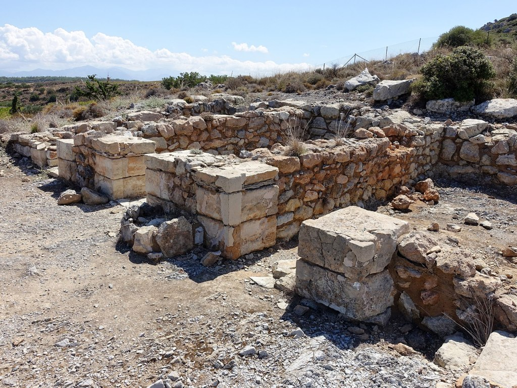 Archaeological remains of Anemospilia on Crete