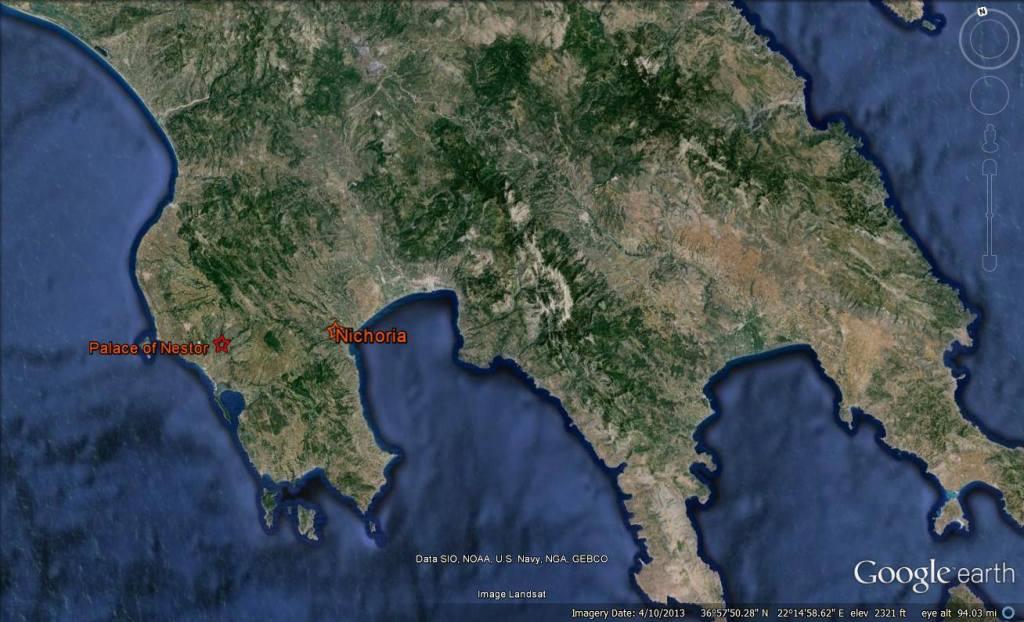 Location of Nichoria and Palace of Nestor (2)