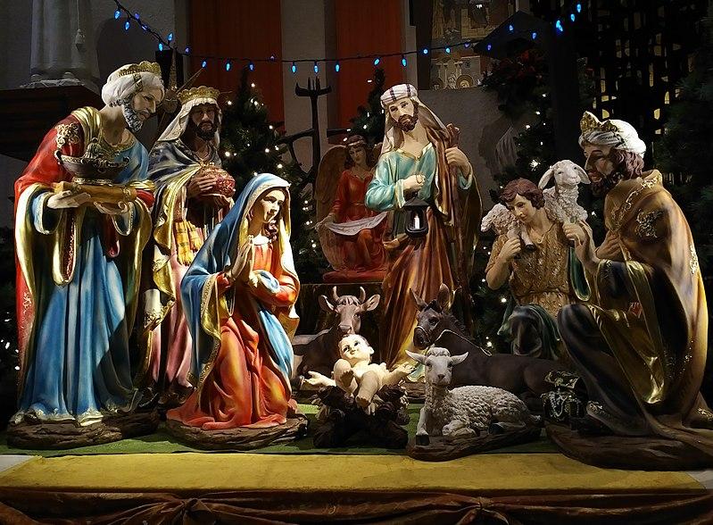 Figure 7. Nativity scene, Saint-Joseph oratory, Montréal, Canada, 2018. CC BY-SA 4.0