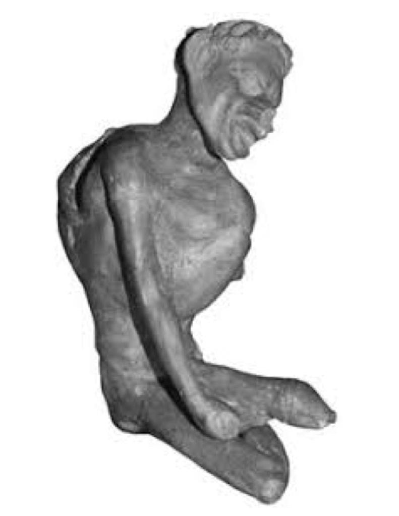 Fig 1. Terracotta figurine, 2nd century BCE. Musée du Louvre, Photograph © Alexandre G. Mitchell.