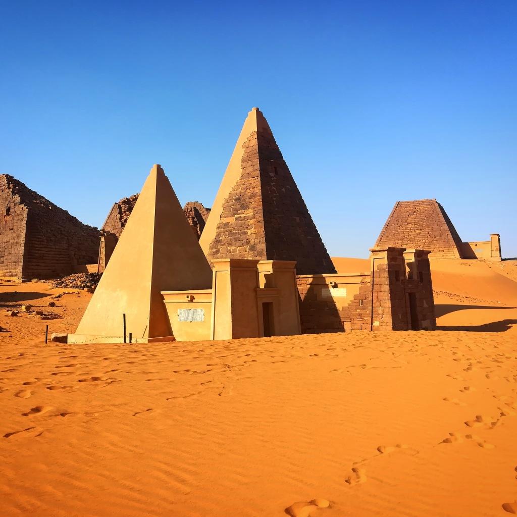 Pyramids of the Kushite rulers at Meroe, Sudan (Image Credit: Ahmed Amir, CC BY-SA 4.0.